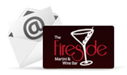 Fireside Martini Gift Cards